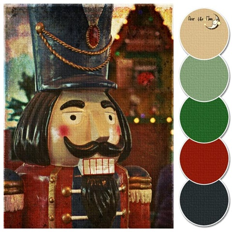 colour palette nutcracker