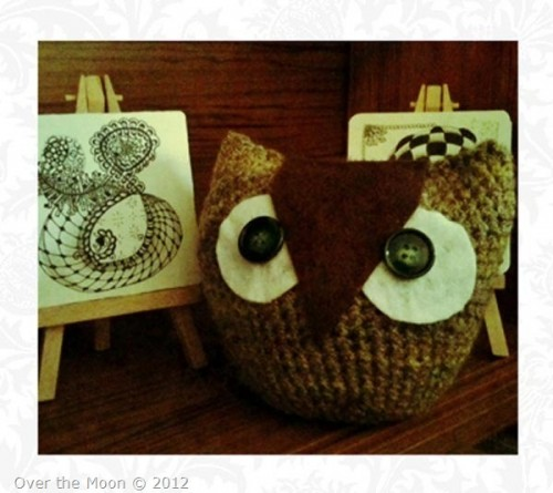 crochet owl called henrietta