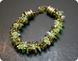 kumihimo bracelet  by crafty hope
