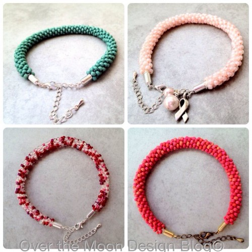 kumihimo bracelets, madeit, over the moon