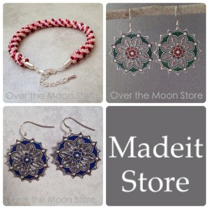 New items listed, Madeit store listing