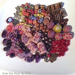 Bead Soup, Bead Soup Blog Party, Over the Moon, BSBP partner Esterina