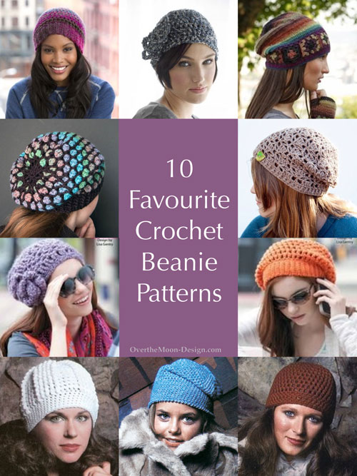 10 favourite crochet beanie patterns