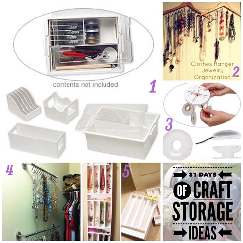 31 days, craft storage ideas, storing chain
