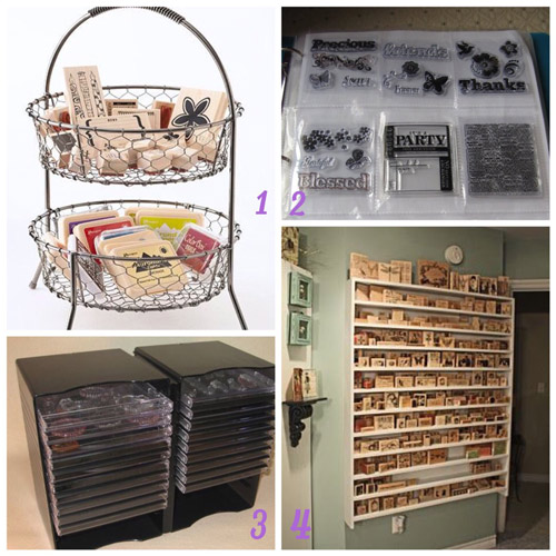 Stamps Craft Storage Ideas Over The Moon