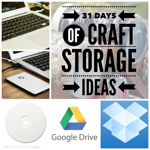 31 days, craft storage ideas, craft storage, digital scrapbooking, digital storage