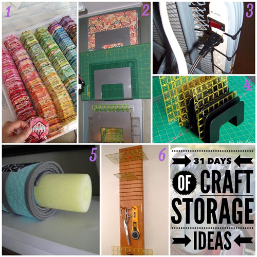 31 days, craft storage ideas, quilting, quilting tools, tool storage, store tools