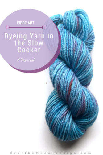 crock pot, slow cooker, yarn dyeing, wilton's food dye, tutorial