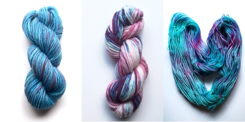 handdyed yarn, crockpot, slow cooker, wilton's food dye