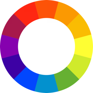 basic colour wheel