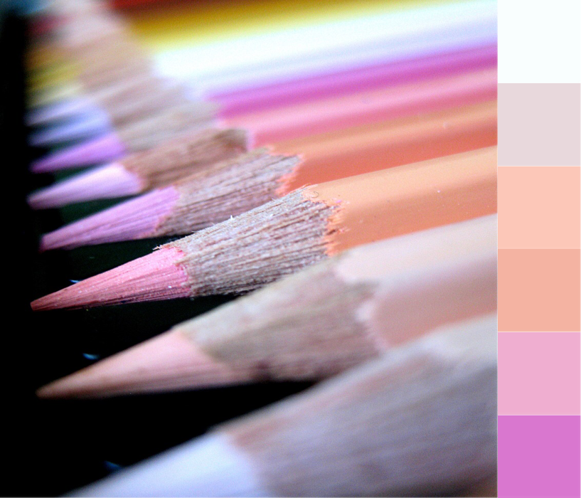 Over the Moon | Crafted Colour Palette - Colour Pencils