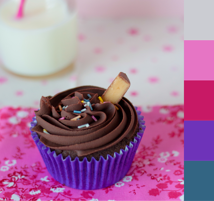 Over the Moon| Crafted Colour - Cupcake Colour Palette